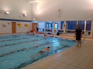 State of the art pool, state of the art swimming